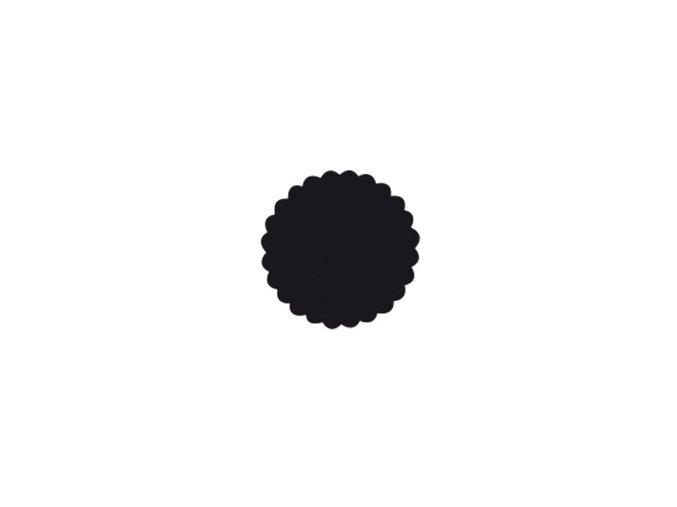 Děrovačka s motivem RICO - Kruh s vlnovkou 2,5cm