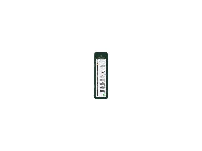 Sada 5ks akvarelové grafitové tužky Faber-Castell 117805
