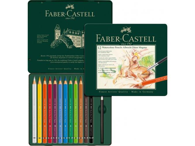 Sada 12 uměleckých akvarelových pastelek Albrecht Dürer Magnus - Faber-Castell