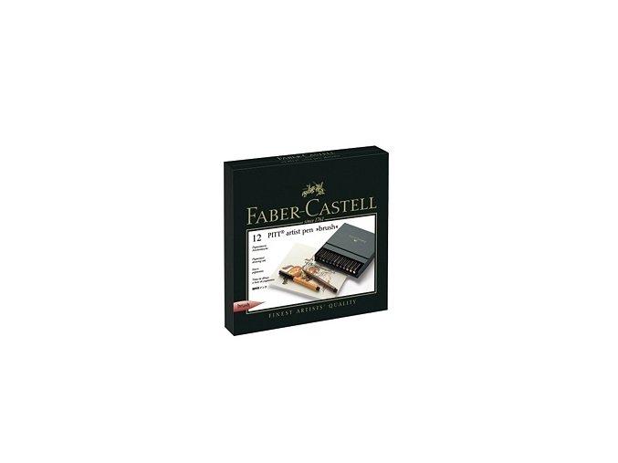 Sada tušových popisovačů Faber-Castell - Studio box 12ks
