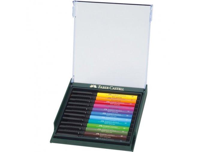 Sada tušových popisovačů Faber-Castell - PITT ARTIST PEN BRUSH 267421