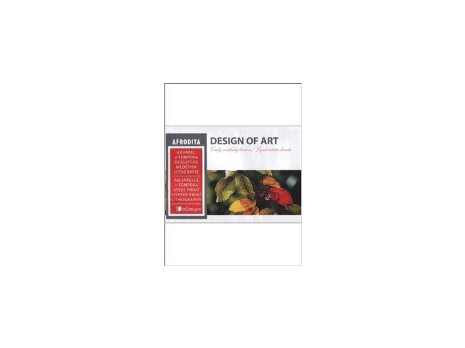 Blok akvarelový 200g, 20 listů AFRODITA - A4
