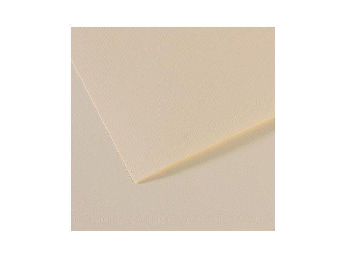 Pastelový papír 160g - č.110 Bílá krémová
