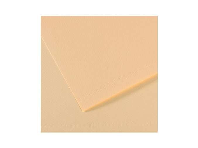 Pastelový papír 160g - č.111 Slonovinová