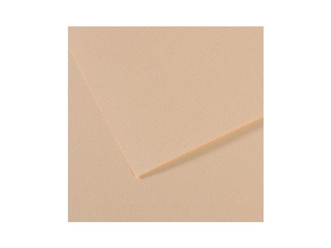 Pastelový papír 160g - č.112  Bledě žlutá