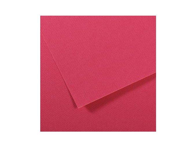 Pastelový papír 160g - č.114  Malinová