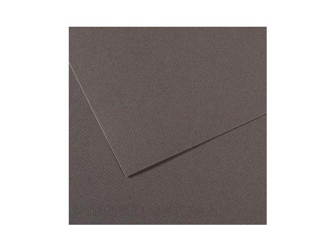 Pastelový papír 160g - č.345  Šedá