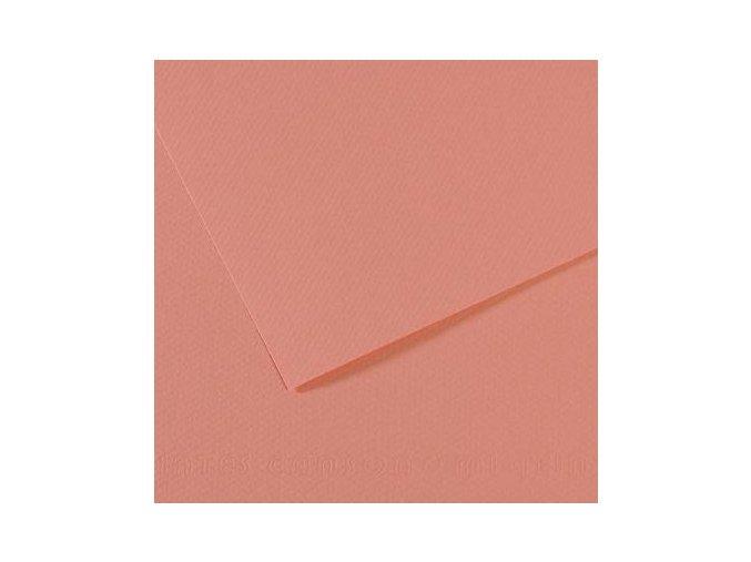 Pastelový papír 160g - č.352  Starorůžová
