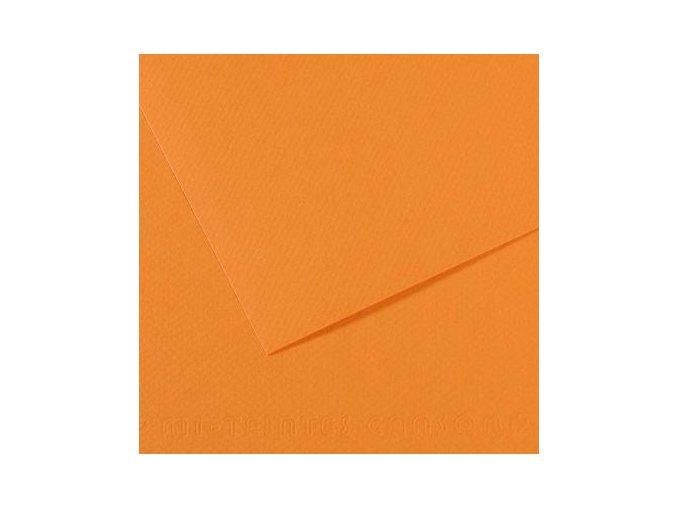 Pastelový papír 160g - č.384 Okr zlatý