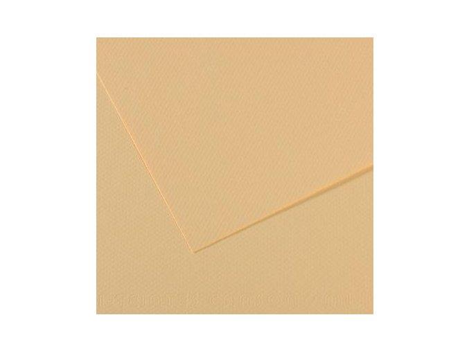 Pastelový papír 160g - č.407 Krémová