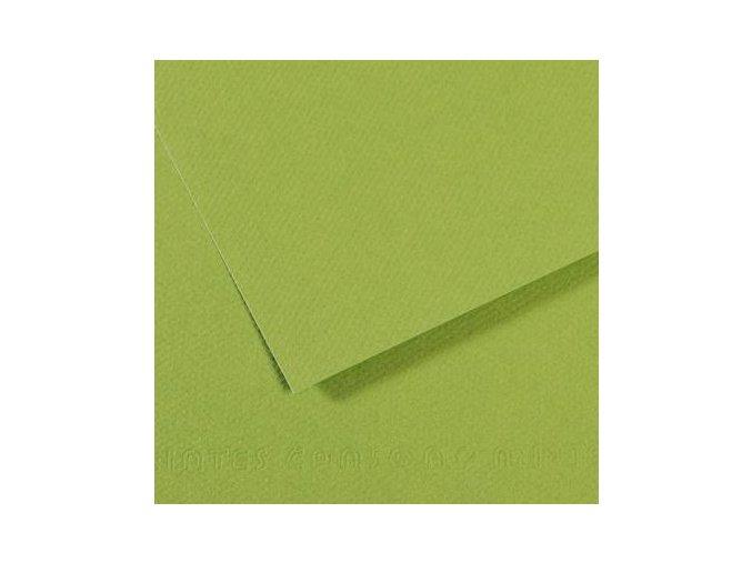 Pastelový papír 160g - č.475  Zeleň střední