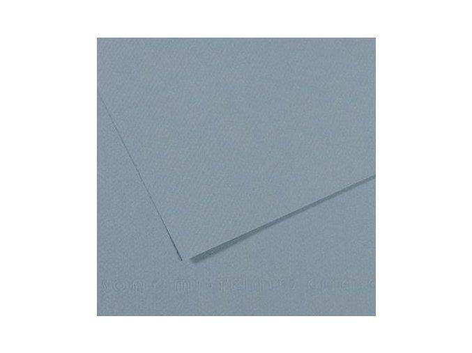 Pastelový papír 160g - č.490  Modrá světlá