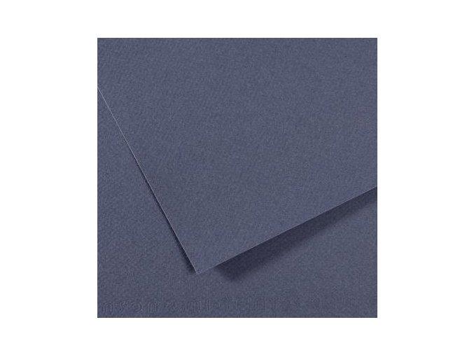 Pastelový papír 160g - č.500 Modrošedá tmavá
