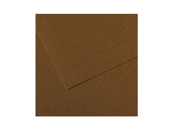 Pastelový papír 160g - č.501 Hnědá tmavá