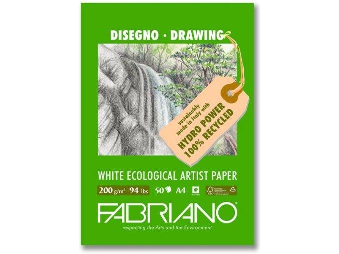 Blok kreslící 200g Fabriano Ecologico - A3