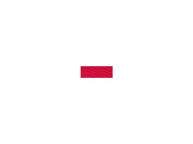 Vlnitě vlnitý karton 250g - Červená