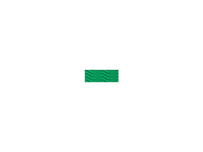 Vlnitě vlnitý karton 250g - Zelená
