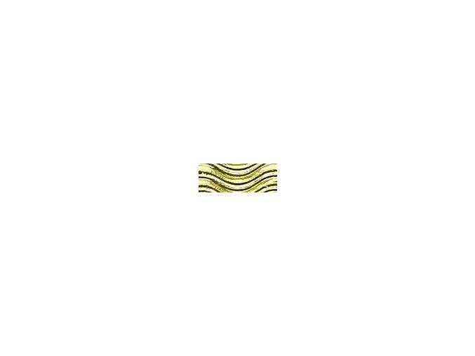 Vlnitě vlnitý karton 250g - Zlatá metalická