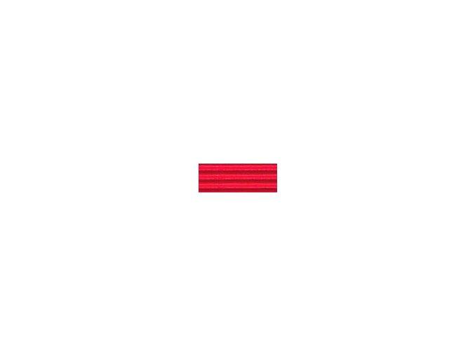 Vlnitý karton 250g - červená