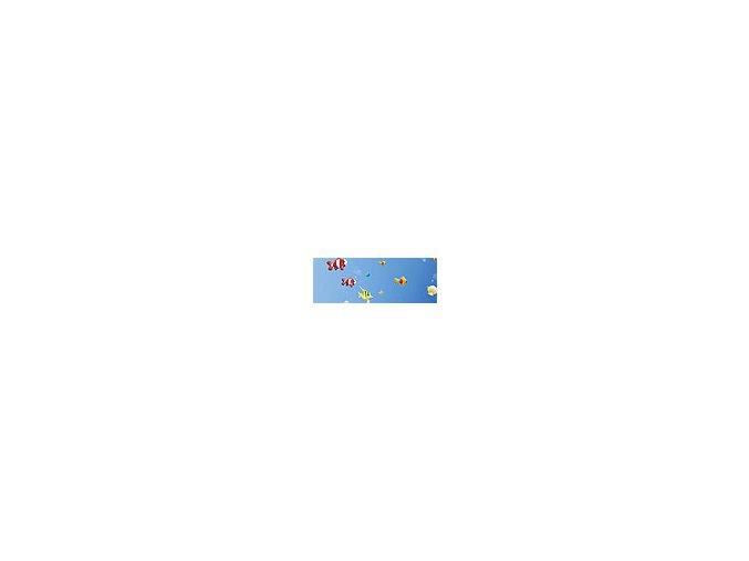 Motiv transparentní papír 50 x 70cm - Vodní svět, 115g