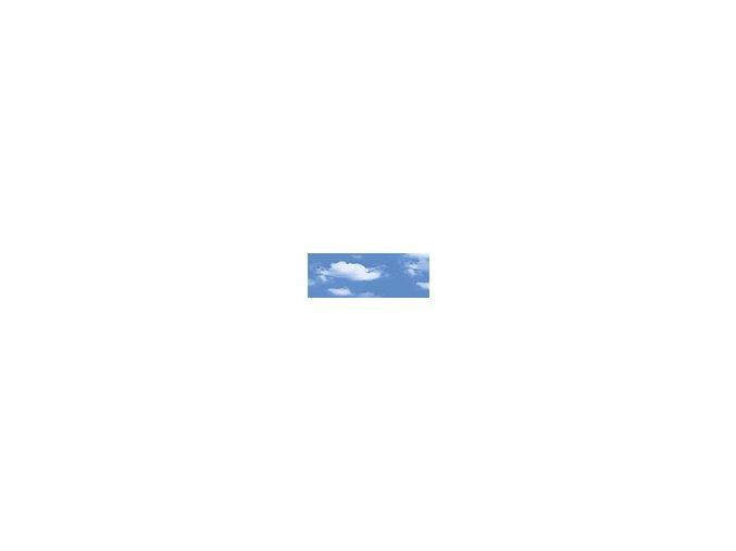Motiv transparentní papír 50 x 70cm - Obloha mraky, 115g