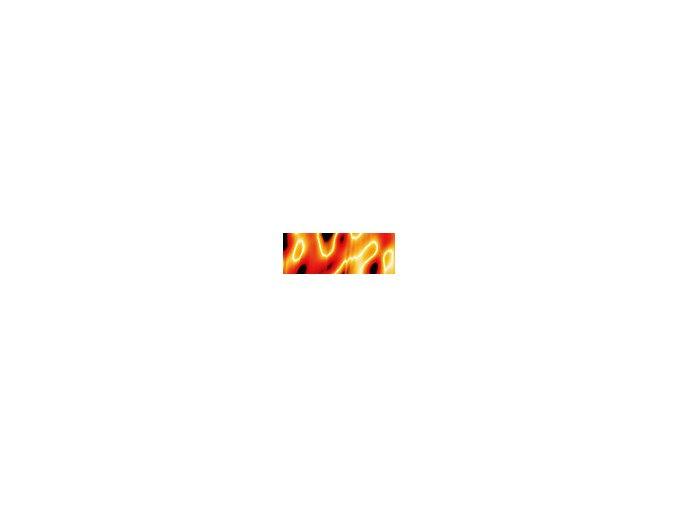 Motiv transparentní papír 50 x 70cm - Oheň, 115g