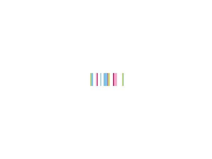 Motiv transparentní papír 50 x 70cm - Proužek pastelový, 115g