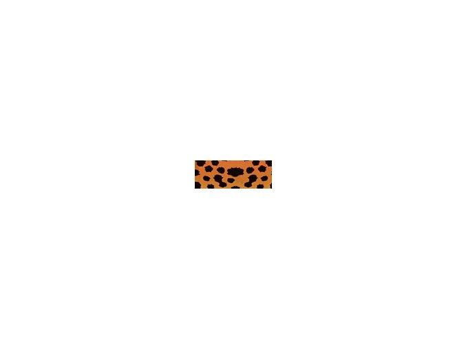 Motiv karton - Gepard oranžový 300g