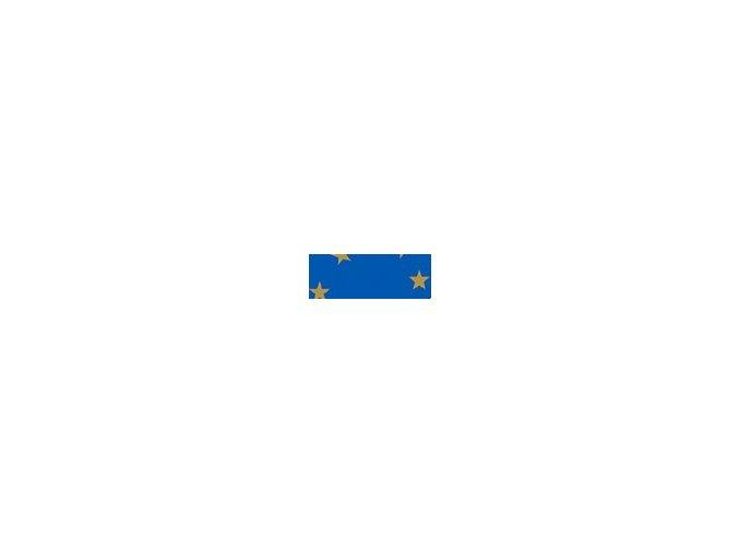 Motiv karton - Hvězda modrý 300g