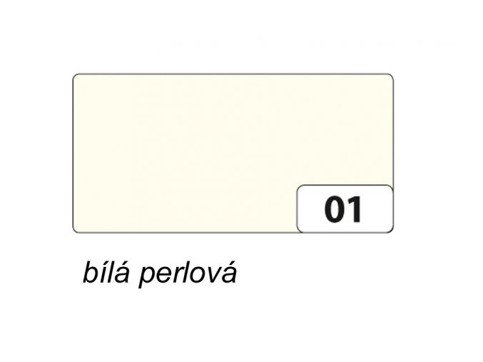 01 Bílá