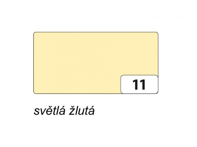 Barevný papír 300g - 11 Žlutá světlá