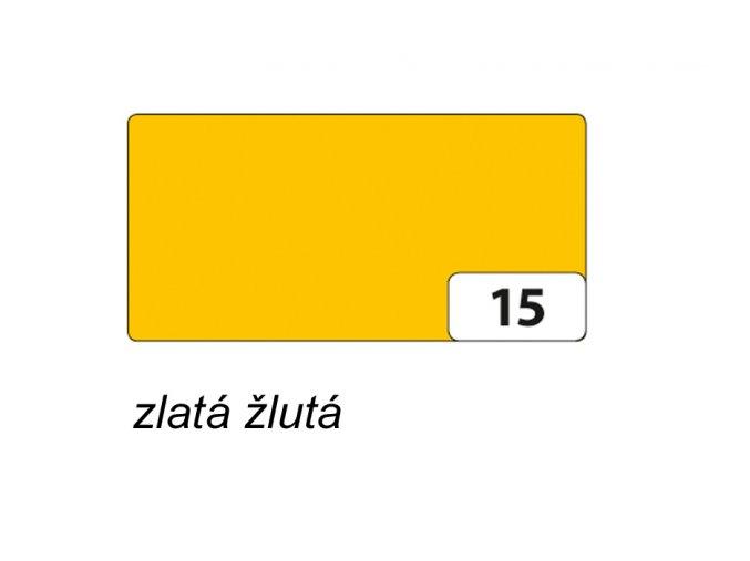 Barevný papír 130g - 15 Žlutozlatá