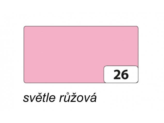 Barevný papír 130g - 26 Růžová světlá