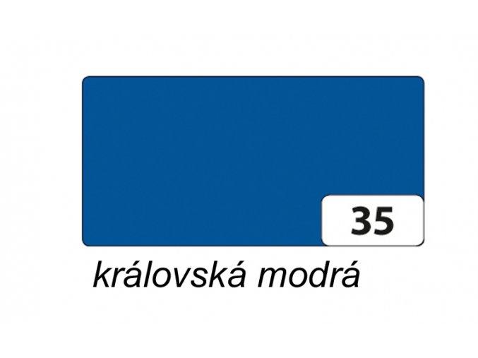 Barevný papír 300g - 35  královská modrá