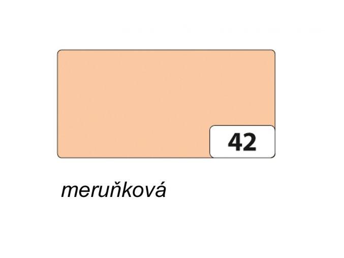 Barevný papír 130g - 42 Meruňková