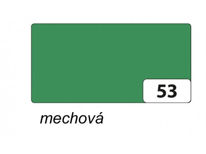 Barevný papír 130g - 53  Mechová