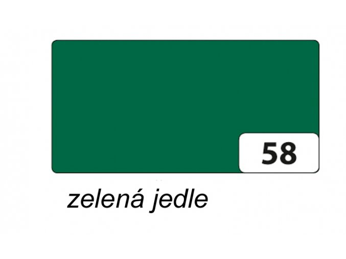 Barevný papír 300g - 58 Zelená jedle