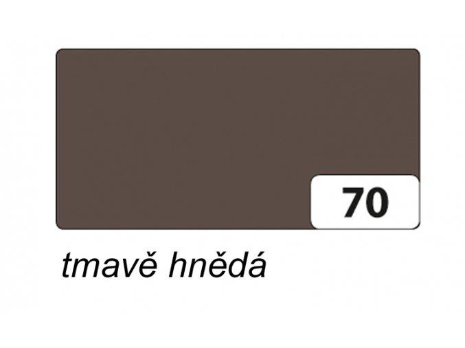 Barevný papír 130g - 70  Hnědá tmavá