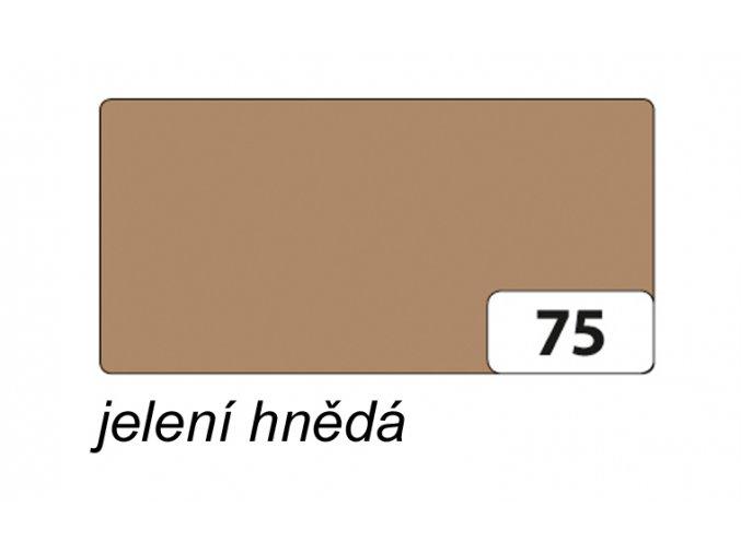 Barevný papír 300g - 75  Jelení hnědá