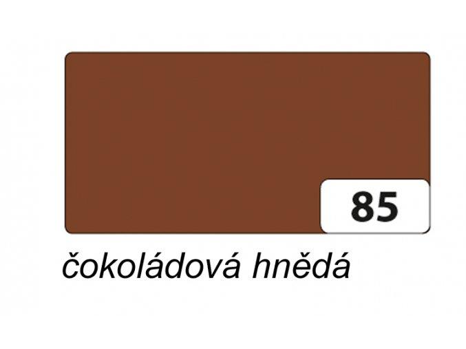 Barevný papír 300g - 85  Čokoládová hnědá