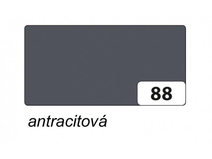 Barevný papír 130g - 88  Antracit