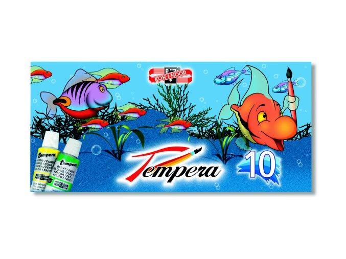 temperové barvy kohinoor 10x16