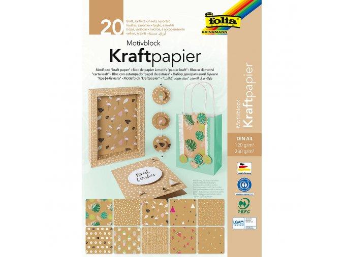 Kraftpapier 20L A4 SV