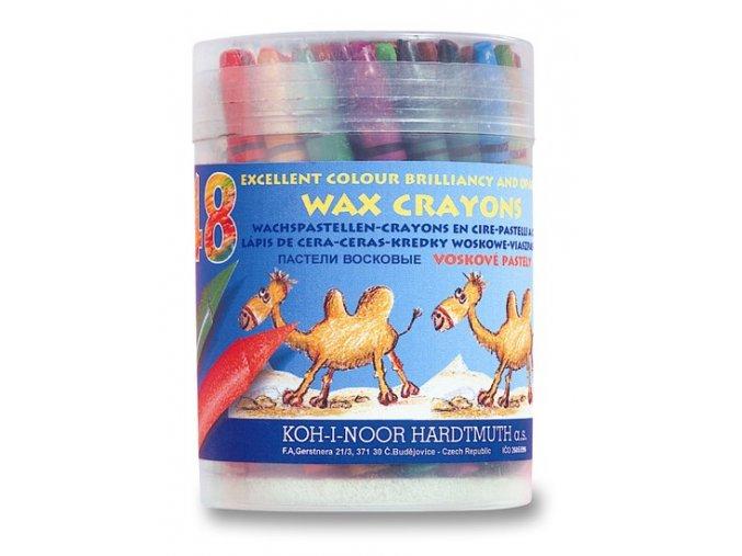 Sada 48 školních voskových pastelů Koh-i-noor