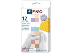 FIMO SOFT Pastel COLOURS