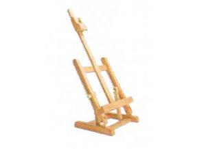 Malířský stojan Typ H - buk (stolní mini)