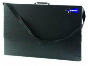 Taška na výkresy z polypropylenu B1 - černá, 102x73x3,5cm