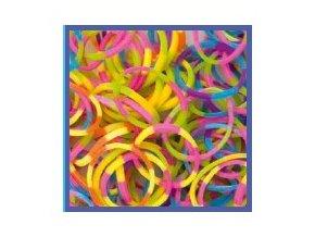 Gumičky Rubber Loops - 100 ks, proužky 339177