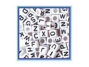 Korálky k náramkům z gumiček - Písmenka