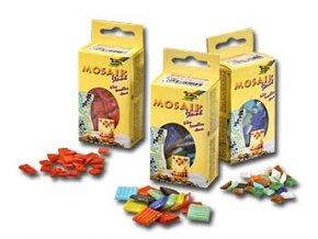 Mozaikové kamínky 10 x 10 mm - mix barev